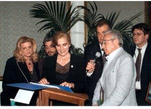 con Ivana Monti - 22 maggio 2004